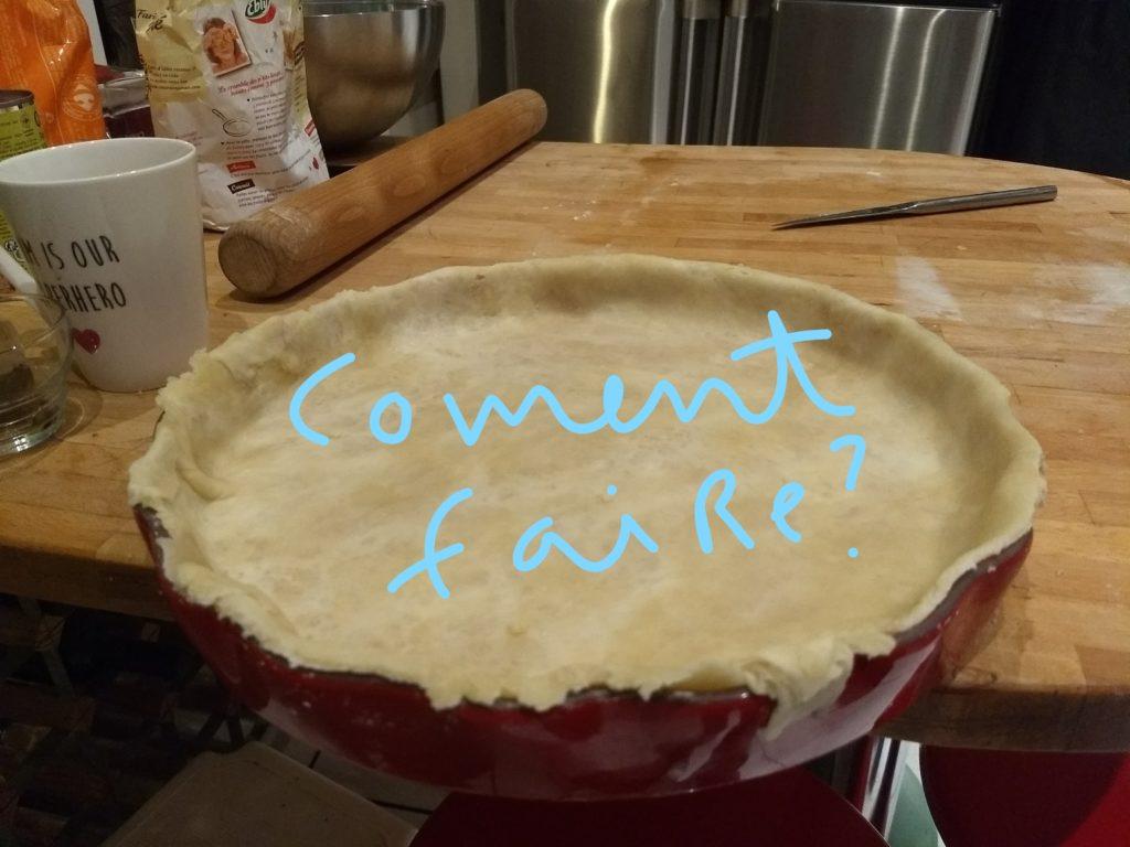 Pâte à tarte ultra simple